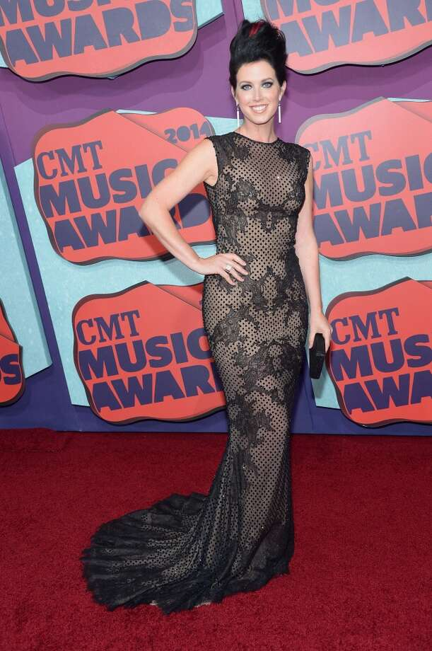 Shawna Thompson of Thompson Square attends the 2014 CMT Music awards at the Bridgestone Arena on June 4, 2014 in Nashville, Tennessee. Photo: Michael Loccisano, Getty Images