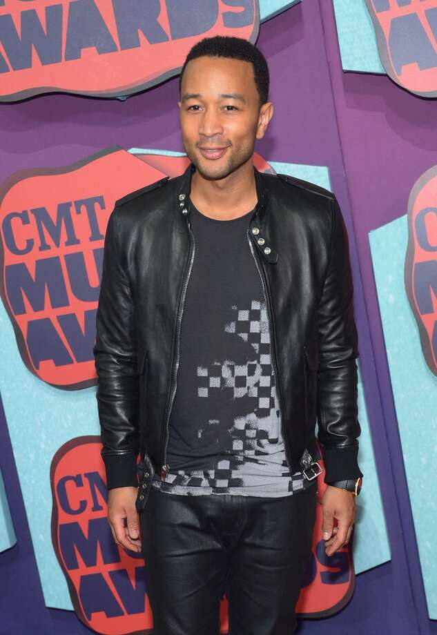John Legend attends the 2014 CMT Music awards at the Bridgestone Arena on June 4, 2014 in Nashville, Tennessee. Photo: Michael Loccisano, Getty Images