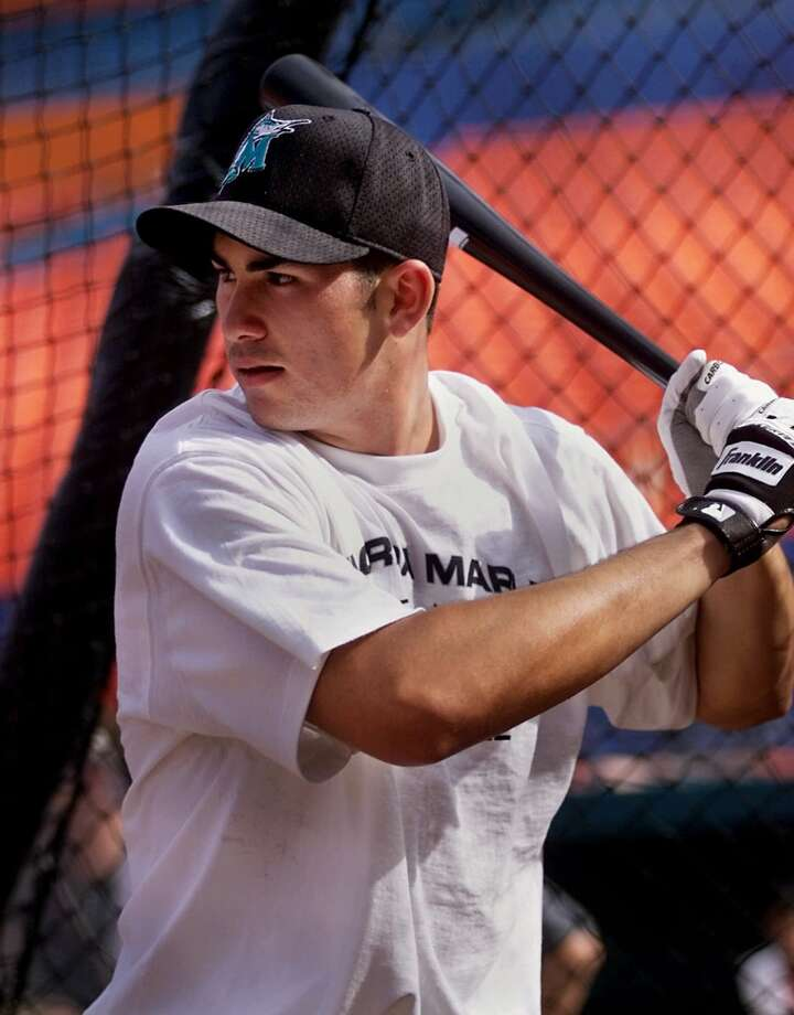 Best: 2000. Adrian Gonzalez First baseman | Florida Marlins | Eastlake High School (Chula Vista, California) Career MLB stats (through 2014): 1,492 games played, .292 batting average, 262 home runs, 966 RBIs Gonzalez's career trajectory was the exact opposite of Anderson's. A wrist injury he suffered in the minors scared off the Marlins, who traded him to the Texas Rangers in 2003. After showing little in parts of two seasons in Arlington, the Rangers shipped him home to San Diego, where he broke out in 2006, hitting .304 with 24 home runs and 82 RBI while playing Gold Glove-caliber defense. He was an All-Star in each of the next four seasons for the Padres and Boston Red Sox before being shipped to the Los Angeles Dodgers in 2012. Photo: Tony Gutierrez, Associated Press