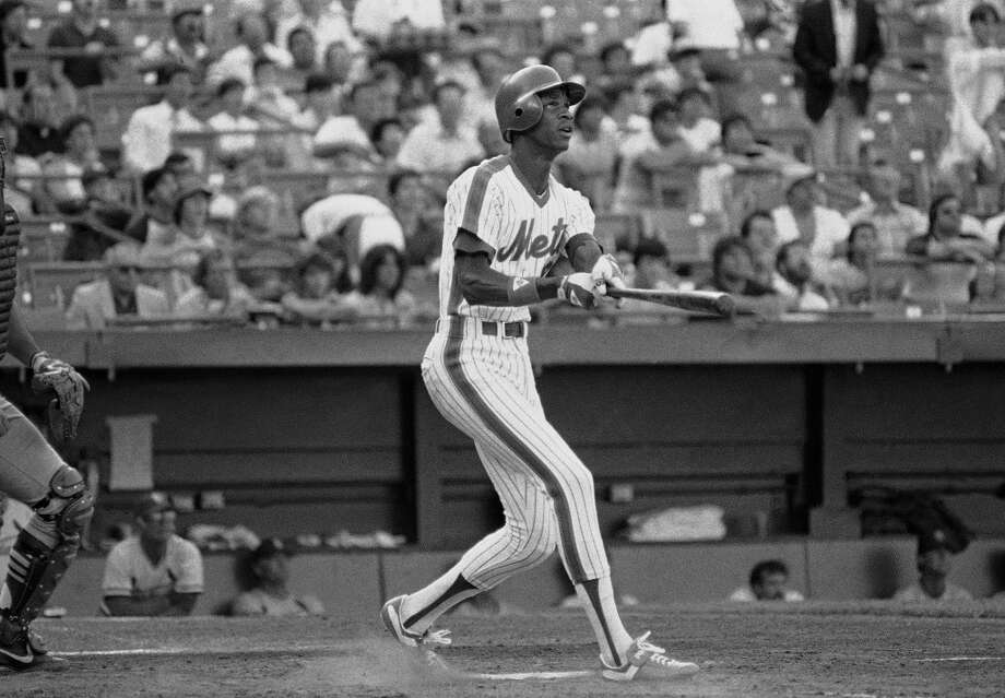 "Best: 1980. Darryl Strawberry Right fielder | New York Mets | Crenshaw High School (Los Angeles) Career MLB stats: 1,583 games played, .259 batting average, 335 home runs, 1,000 RBIs ""Straw"" burst onto the scene in 1983, winning National League Rookie of the Year honors while hitting 26 homers with a sweet swing on his 6-foot-6 frame. He made eight-straight All-Star Games with the Mets and Dodgers, and helped New York win the 1986 World Series. But it's hard not to wonder how great Strawberry could have been if not for his off-the-field problems, including a cocaine addiction that nearly cost him his career. Photo: Ray Stubblebine, Associated Press"