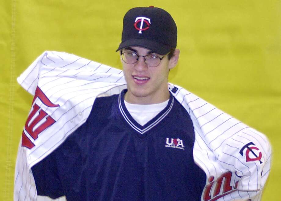 Best: 2001. Joe MauerCatcher | Minnesota Twins | Cretin-Durham Hall High School (St. Paul, Minnesota)Career MLB stats (through 2013): 1,298 games played, .319 batting average, 109 home runs, 689 RBIsThe 2001 Gatorade National Player of the Year — in football — Mauer turned down a chance to play quarterback at Florida State to sign with his hometown Twins instead. It was a good move. Mauer took over as the Twins' full-time catcher in 2005 and led the American League in hitting the next season with a .347 average, the first of his three batting titles. The 2009 A.L. MVP struggled while recovering from knee surgery in 2011 and converted to first base for 2014 after concussion-like symptoms forced him to miss more than a month of the 2013 season. Photo: Jim Mone, Associated Press
