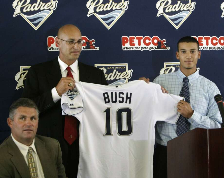 Worst: 2004. Matt Bush Shortstop | San Diego Padres | Mission Bay High School (San Diego) Career MLB stats: None San Diego gave Bush a $3.15 million signing bonus after selecting the hometown star in 2004. The Padres may as well have burned the cash. Bush ran into off-the-field problems immediately following his selection and continued to get into trouble throughout his career. The Padres eventually traded him to Toronto, who released him after he allegedly threw a baseball at a woman's head at a party in Florida. Bush — by then converted to pitcher — signed a minor league deal with the Tampa Bay Rays in 2010, but a plea deal stemming from a DUI incident during 2012 spring training resulted in a 51-month jail sentence. He's projected to be released later this year. Photo: Lenny Ignelzi, Associated Press