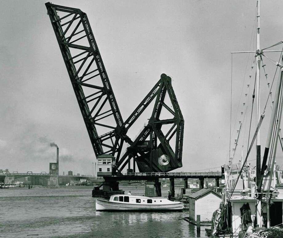 July 2, 1953 - Salmon Bay Bridge No. 4. Photo: FILE PHOTO, SEATTLEPI.COM / SEATTLEPI.COM