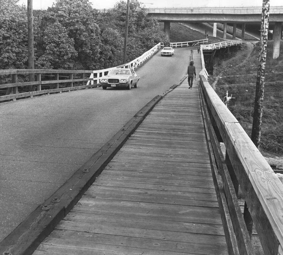 October 23, 1972 - S. Lucile St. bridge was the worst in the city, according to city engineers in 1972. Photo by Phil H. Webber. Photo: FILE PHOTO, SEATTLEPI.COM / SEATTLEPI.COM
