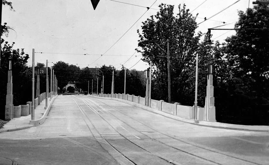 June 18, 1937 - Cowan Park Bridge. Photo: FILE PHOTO, SEATTLEPI.COM / SEATTLEPI.COM