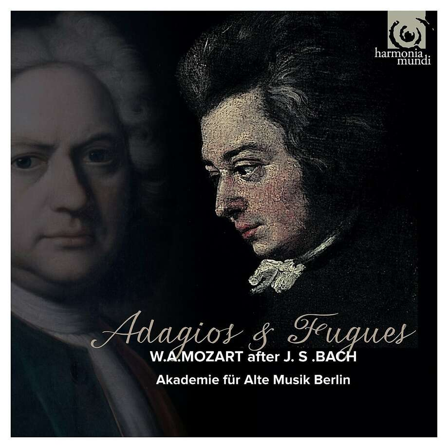 CD cover, Akademie fur late Musik, Bach/Mozart Photo: Harmonia Mundi