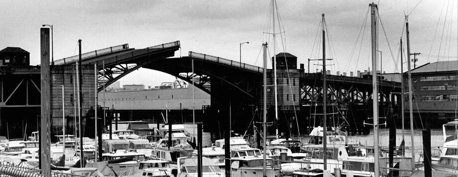 August 17, 1988 - A photo of the 16th Avenue Bridge.  Photo by Phil H. Webber. Photo: FILE PHOTO, SEATTLEPI.COM / SEATTLEPI.COM