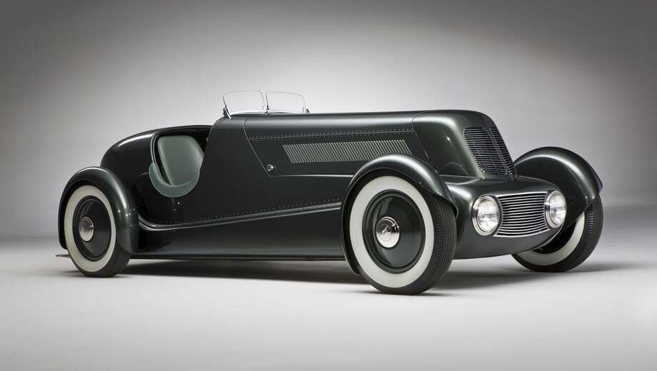 Edsel Ford Model 40 Special Speedster, 1934. Courtesy of the Edsel and Eleanor Ford House, Grosse Pointe Shores, Mich. Photo: Steve Petrovich Shooterz LLC