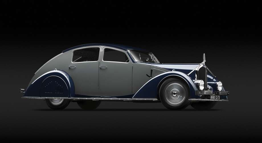 Voisin  C - 25 Aérodyne , 1934. Designed by  Gabriel Voisin .  Courtesy of  Merle and Peter Mullin, Brentwood, California . Photo by Michael  Furman.