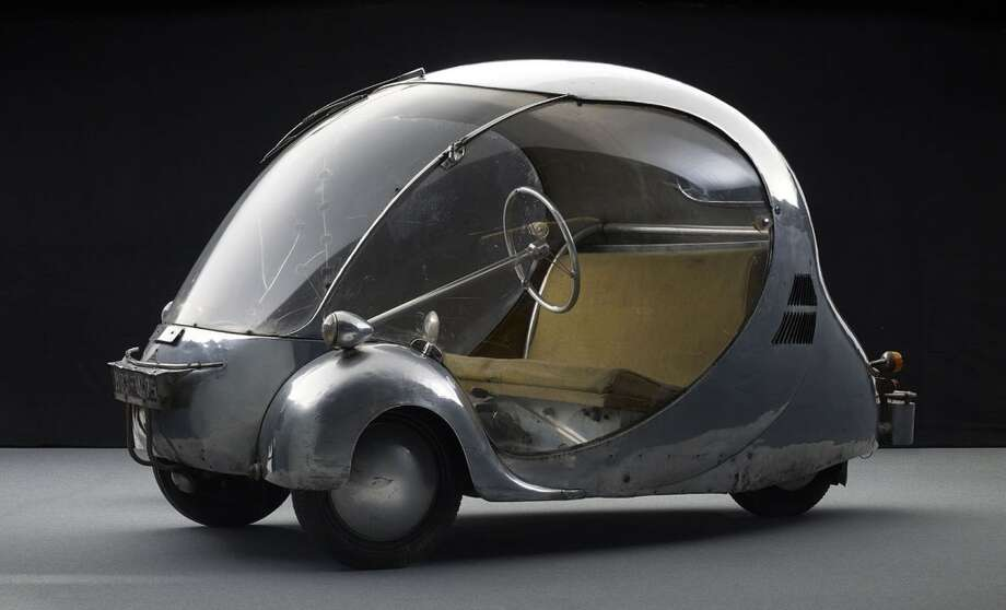 L'Oeuf é lectrique, 1942. Designed and fabricated by Paul Arzens. Courtesy  Musée des Arts et Métiers, Paris, France. Photo by Michel  Zumbrunn and Urs Schmid