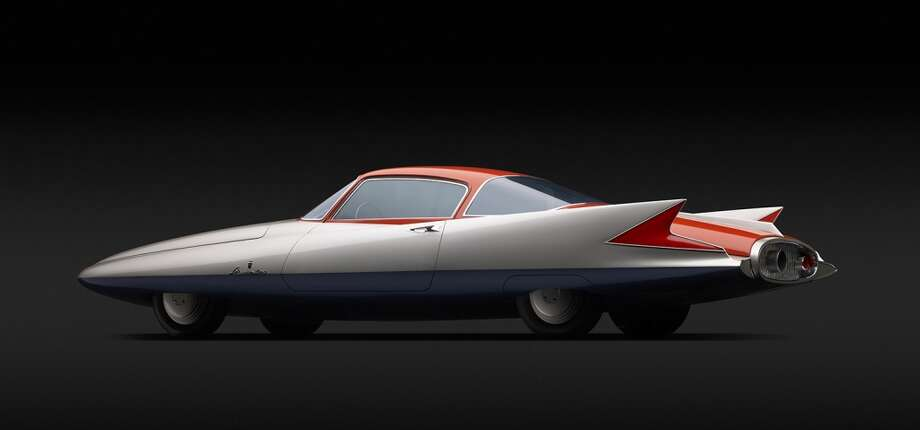 "Chrysler (Ghia)  Streamline X ""Gilda,""  1955. Designed by Giovanni  Savonuzzi and Virgil Exner .  Courtesy of Scott Grundfor and  Kathleen Redmond. Photo by Michael Furman."