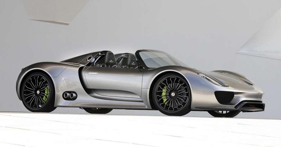 Porsche  918 Spyder Concept Car,  2010. Designed by Michael Maurer and Porsche Design Studio . Courtesy of Porsche . Photo © Porsche