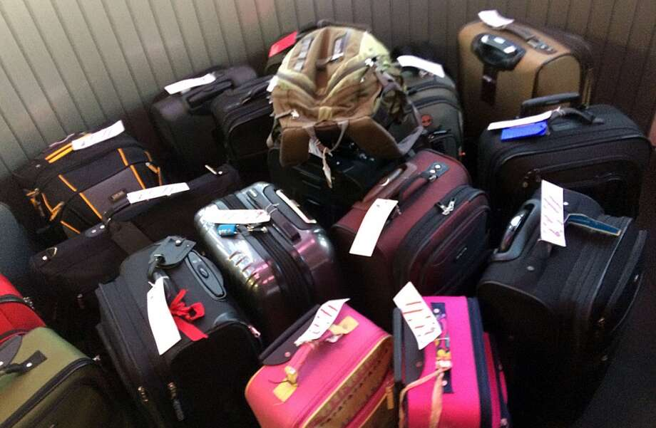 In general, because they often have more items of value in them, gate-checked bags are far more likely to have property missing at the end of the flight. Photo: Spud Hilton, Bad Latitude