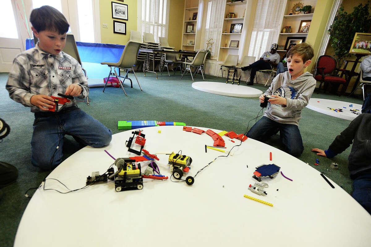 Battling Robots Summer Camp August 11-15 Beaumont Children's Museum 409-651-8435 Visit Website