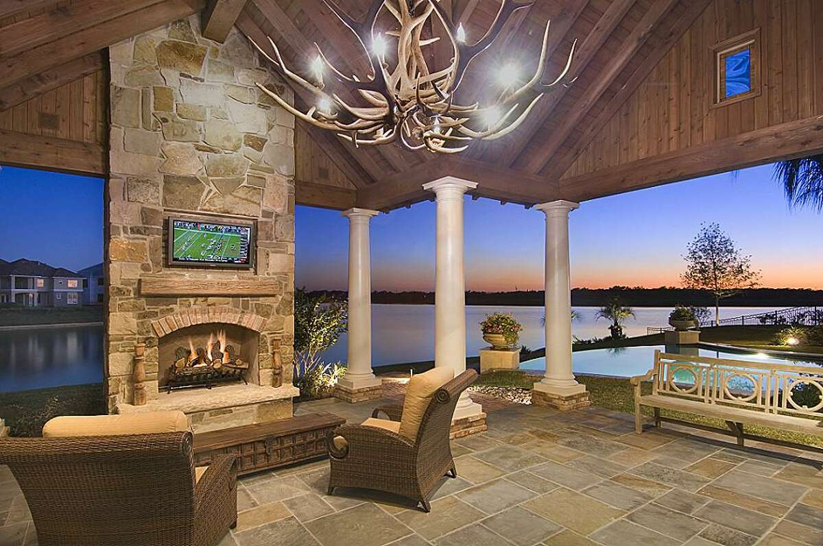This cool Sugar Land property has a backyard perfect for summer fun.