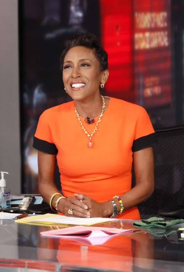 Robin Roberts was all over NBA Finals and the Spurs on GMA. Photo: Heidi Gutman, ABC