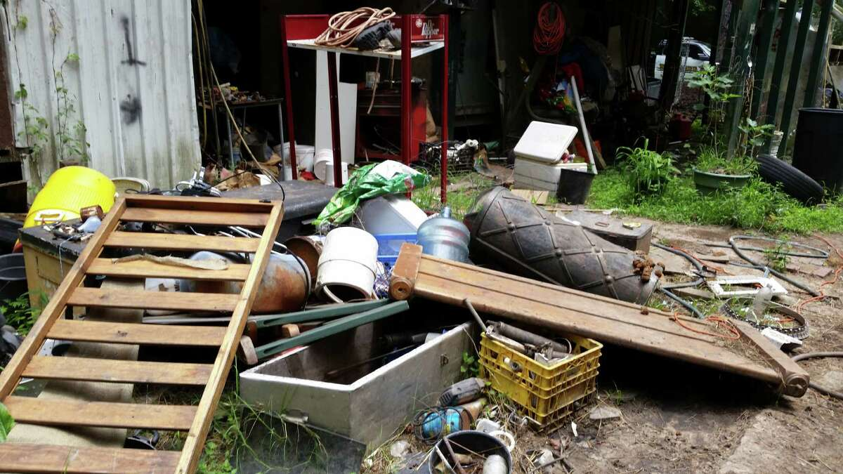 On Wednesday the Houston SPCA rescued and removed six horses, one donkey, four pigs, two dogs, and one cat from a property off FM 2090 in Liberty County. The animals had been living in their own waste for an undetermined time. The SPCA will look for new homes for the animals after they have been rehabilitated, they said Wednesday.