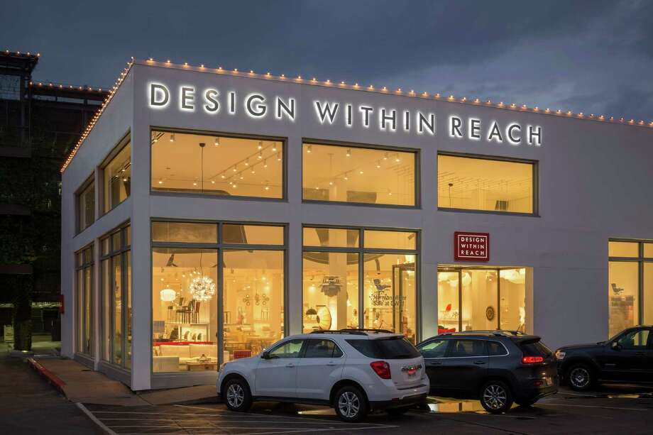 DESIGN WITHIN REACH:The slick, modern studio has taken over Anthropologie's former space in Highland Village. Photo: GARY ZVONKOVIC, PHOTOGRAPHER / ONLINE_YES