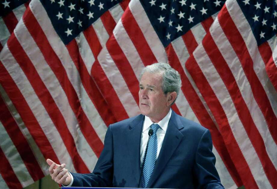 Article: George W. BushNo. of revisions: 45,273 Photo: LM Otero, STF / AP