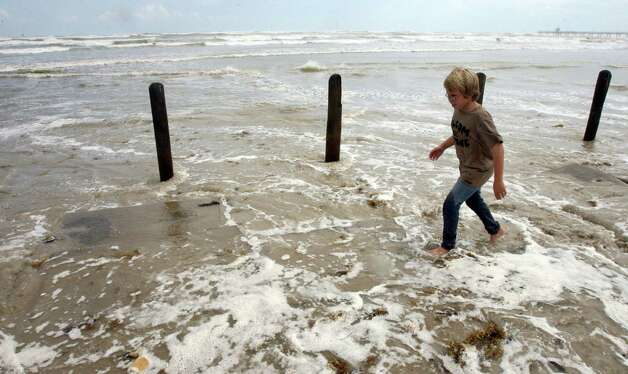 "Landfall Point: South Padre Island (see on Google maps)Estimated Insurance Industry Losses: $8-$12 billion (Source: The 100 Year Hurricane,"" Karen Clark & Company risk assessment)  Photo: Todd Yates, Houston Chronicle / Corpus Christi Caller-Times"