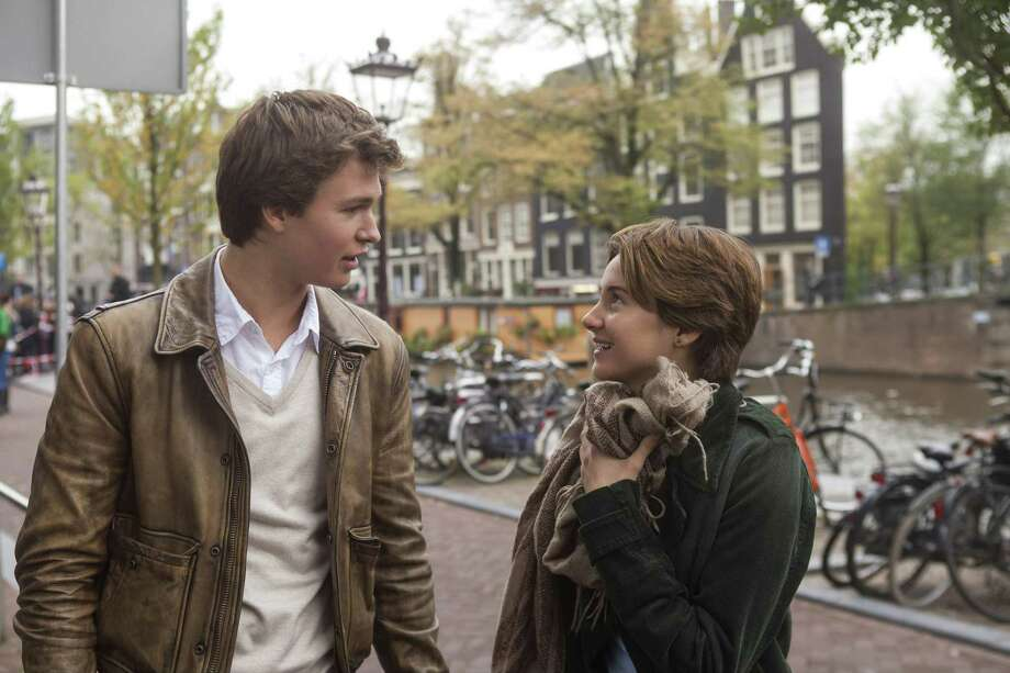 "Ansel Elgort and Shailene Woodley star in ""The Fault in Our Stars."" Photo: James Bridges, HO / MCT"