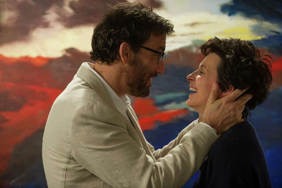 """Clive Owen and Juliette Binoche play an alcoholic literature teacher and ailing artist, respectively, in """"Words and Pictures."""""""