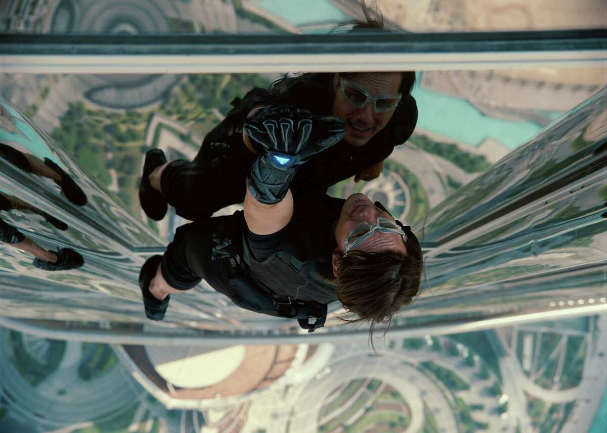 """Tom Cruise stars in """"Mission: Impossible - Ghost Protocol."""""""