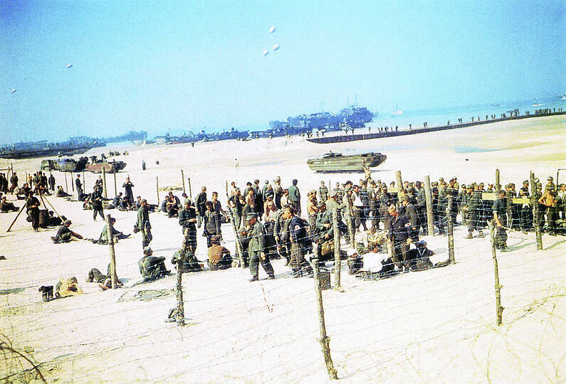 D Day Invasion Color Operation Overlord Deu...