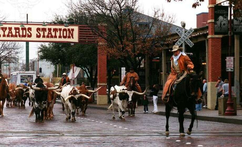 Fort Worth/Dallas attraction:Stockyards National Historic District