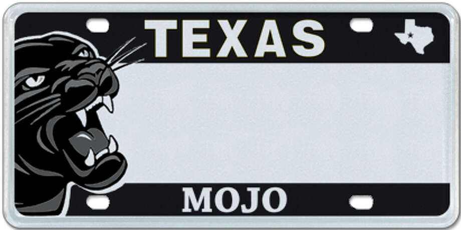 Various Texas high school license plates are available (Odessa Permian shown) Photo: MyPlates.com & Texas Department Of Motor Vehicles
