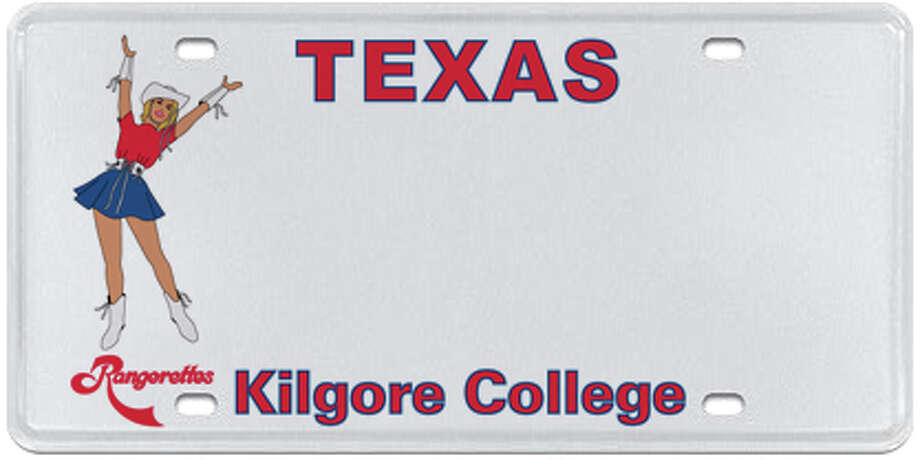Various Texas college license plates are available Photo: MyPlates.com & Texas Department Of Motor Vehicles