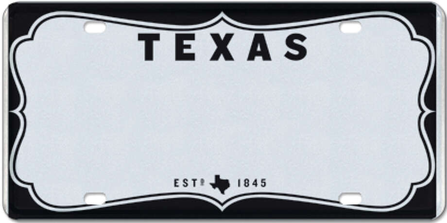 Texas Vintage (in white or black) Photo: MyPlates.com & Texas Department Of Motor Vehicles