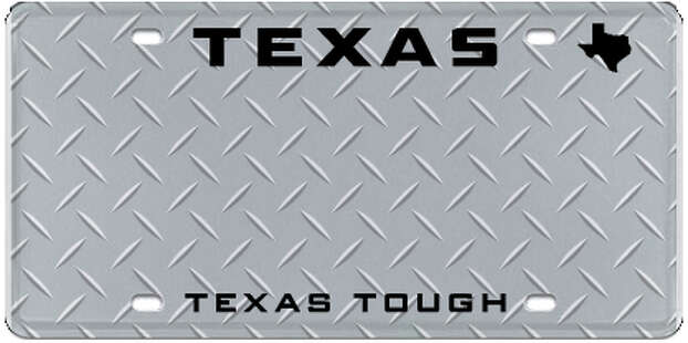 University Of Texas License Plates Get Makeover San