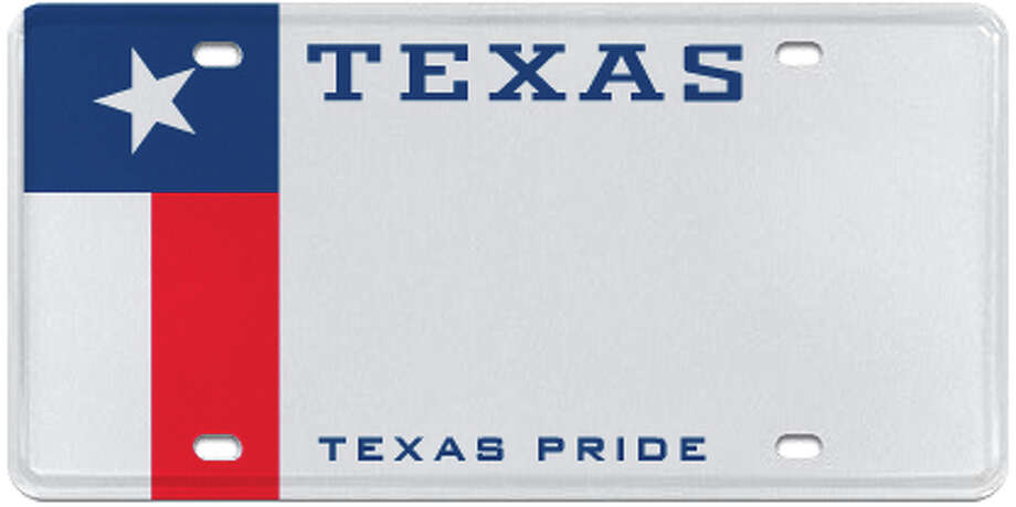 Texas Pride Photo: MyPlates.com & Texas Department Of Motor Vehicles