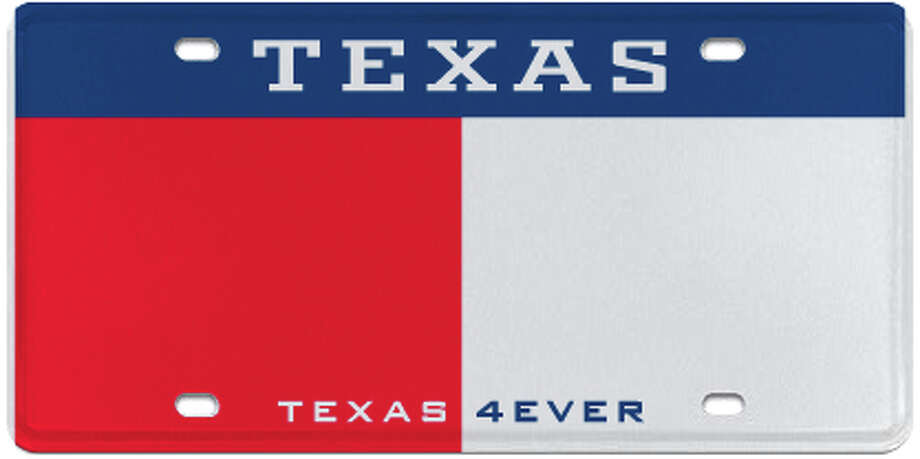 Texas 4 Ever Photo: MyPlates.com & Texas Department Of Motor Vehicles