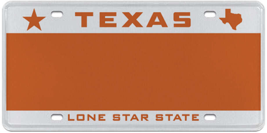Small Star (multiple colors available) Photo: MyPlates.com & Texas Department Of Motor Vehicles