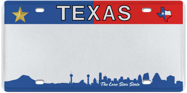More Than A Handful Of Vanity Texas License Plates Could