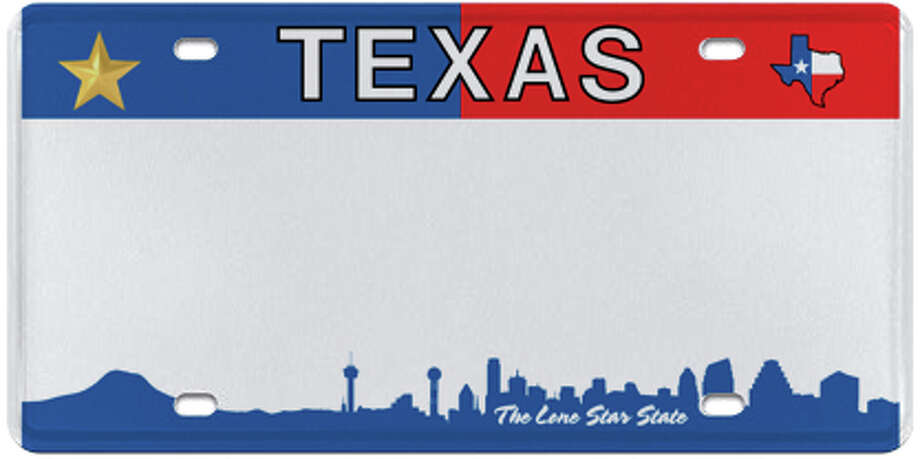 New Texas Photo: MyPlates.com & Texas Department Of Motor Vehicles
