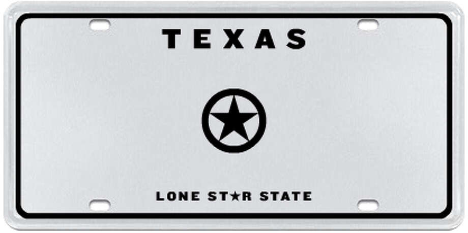 Lone Star Badge Photo: MyPlates.com & Texas Department Of Motor Vehicles