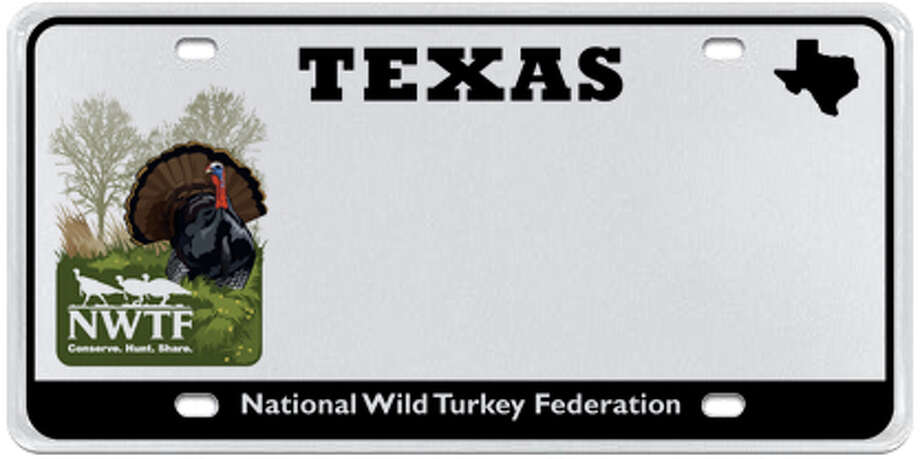 National Wild Turkey Federation Photo: MyPlates.com & Texas Department Of Motor Vehicles