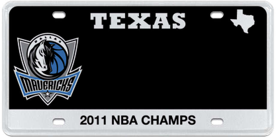 Dallas Mavericks Photo: MyPlates.com & Texas Department Of Motor Vehicles