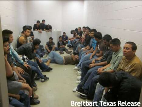 Hundreds of undocumented immigrants, mostly from Central America, are held in U.S. Border Patrol facilities in the Rio Grande Valley along the U.S./Mexico border in late May 2014. Photos were obtained by Breitbart. Photo: Courtesy, Breitbart Texas