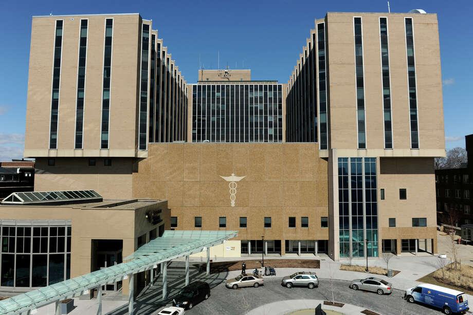 Bridgeport Hospital, in Bridgeport, Conn., March 21, 2014. Photo: Ned Gerard / Connecticut Post