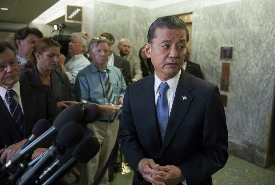 Ousted Veterans Affairs Secretary Eric Shinseki was unable to bring the leadership needed in a bureaucracy with a long history of problems. Photo: Cliff Owen / Associated Press / FR170079 AP