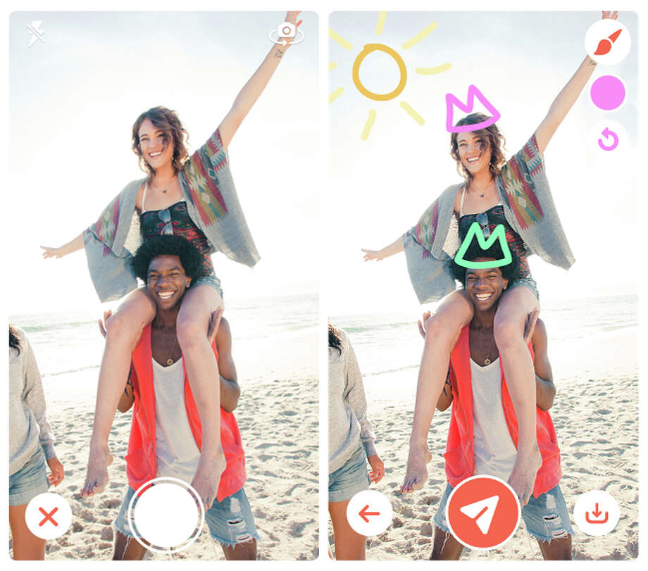 May 24: Amid matchmaking fervor fueled by Tinder (pictured), the Dating Ring sends unattached New York women to S.F., where single men outnumber women. Verdict: Odds:Good::Goods:Odd. Photo: Tinder / ONLINE_YES
