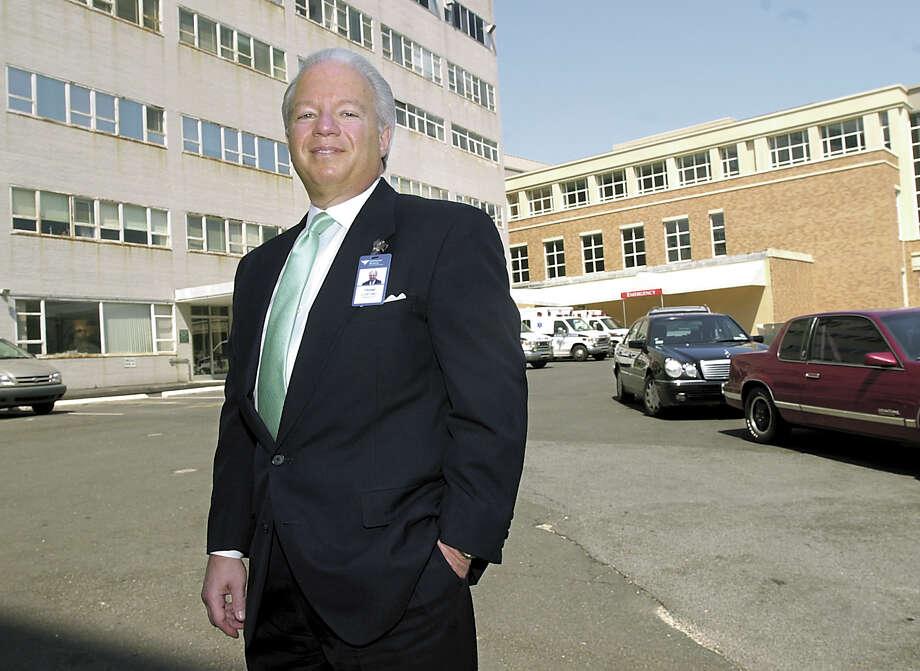 Greenwich Hospital president/CEO Frank A. Corvino Photo: Helen Neafsey, File Photo / Greenwich Time file photo