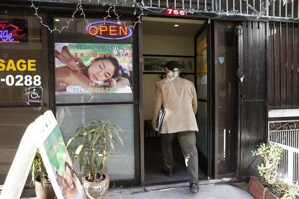 Asian francisco massage parlor san