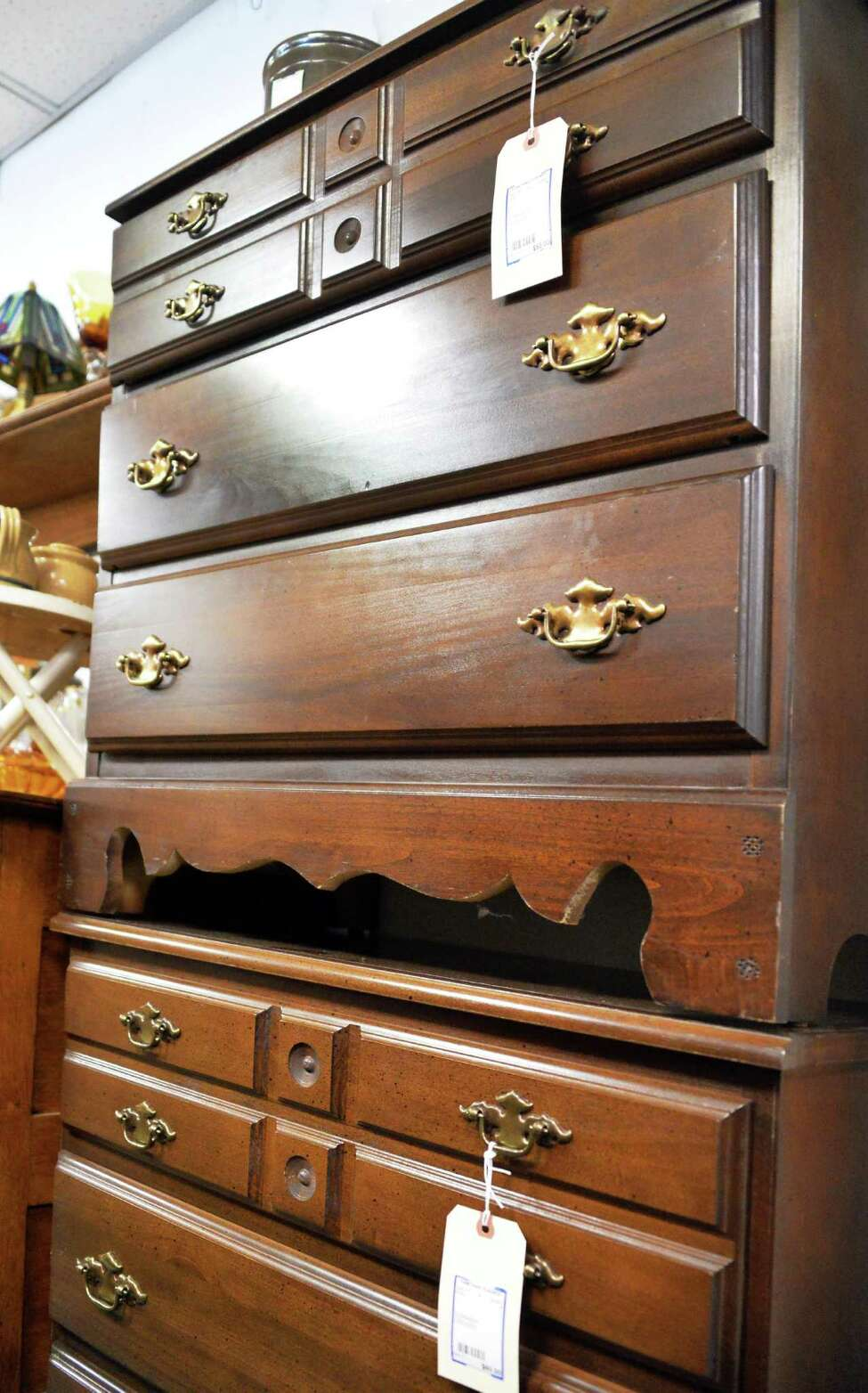 Three drawer dressers at Something Olde, Something New Tuesday, May 13, 2014, in Slingerlands, N.Y. (John Carl D'Annibale / Times Union)