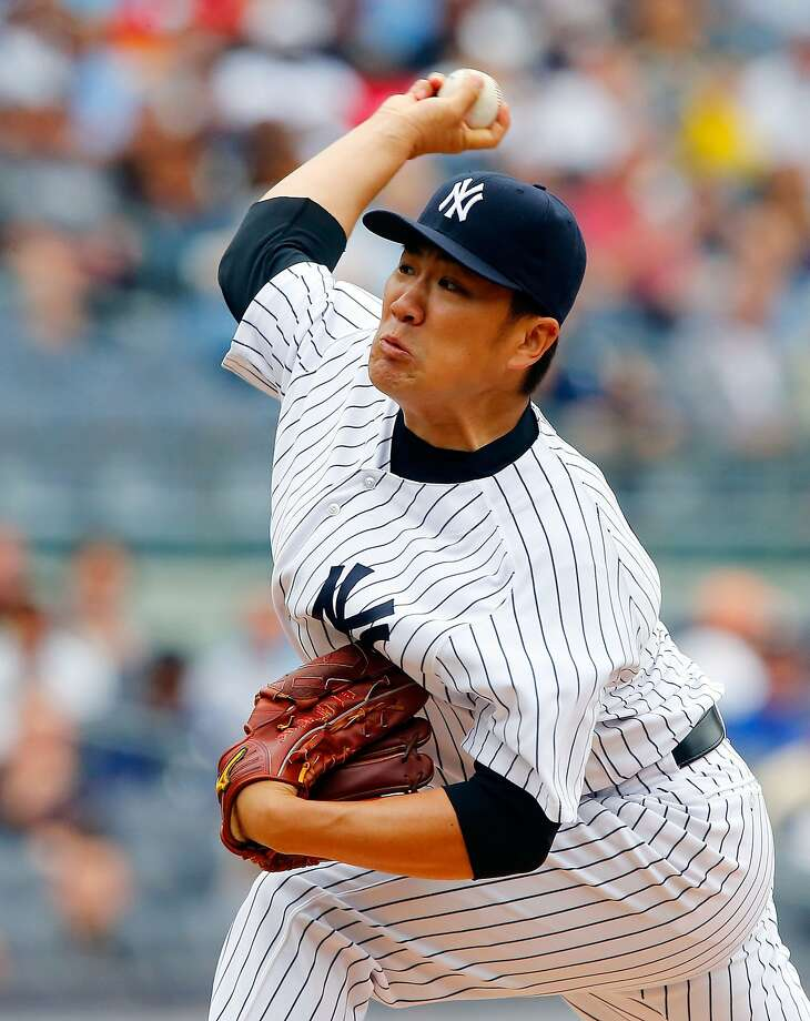 Masahiro Tanaka improved his record to 9-1 with Thursday's win over the A's. Photo: Jim McIsaac, Getty Images
