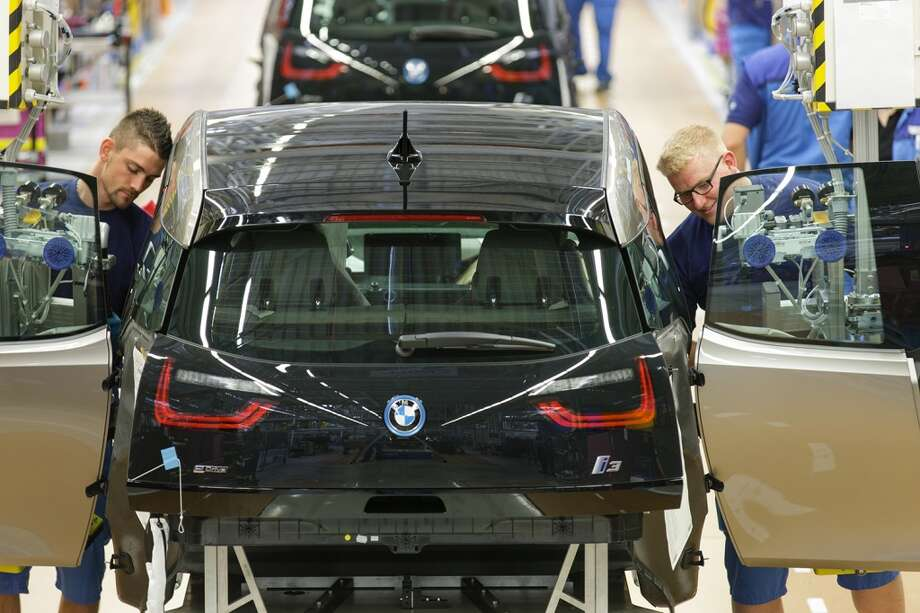 A look at BMW i3  and i8 production at the BMW plant in Leipzig, Germany. Photo: Christoph Busse / BMW AG